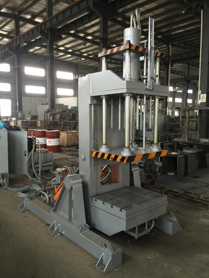 High Dimensional Accuracy Gravity Casting Machine For Automotive Engine Intake Manifolds