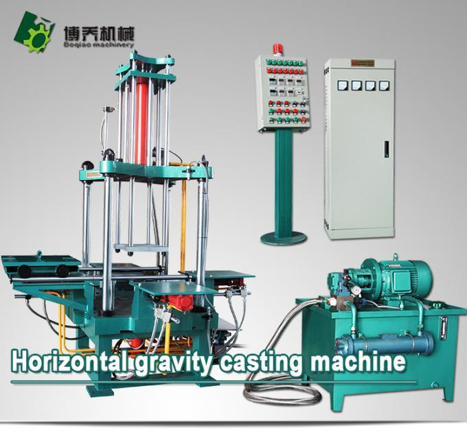 High Efficiency Automatic Die Casting Machine , Horizontal Casting Machine