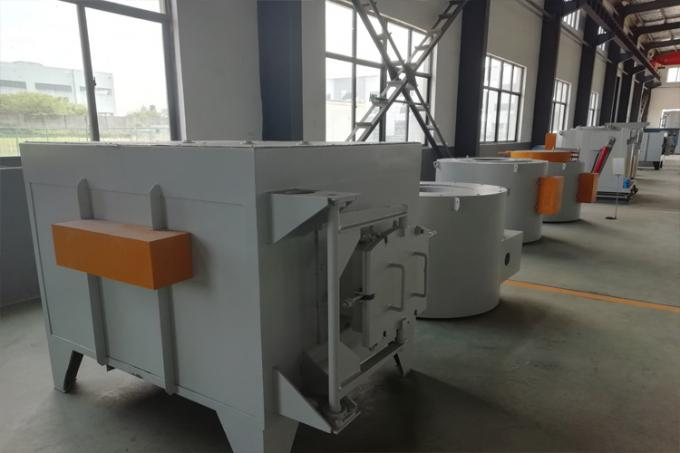 High Capacity Metal Casting Furnace , Aluminum Scrap Melting Furnace