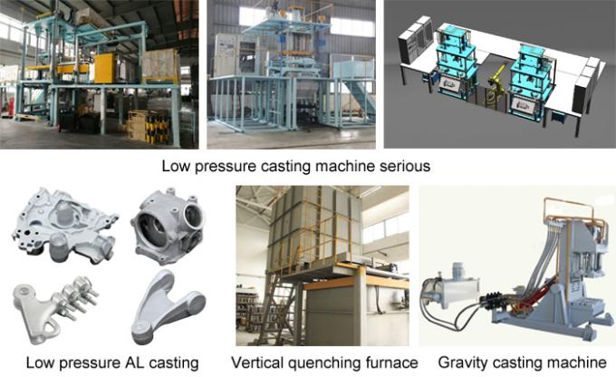 automatic control low pressure die casting machine for anodizing aluminum casting