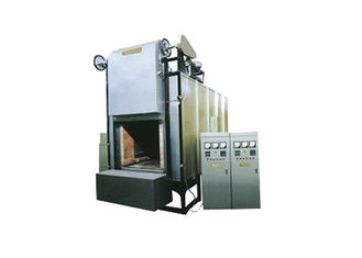China Industrial Bogie Hearth Furnace , Resistance Heating Furnace 900 Degree Max Temperature supplier