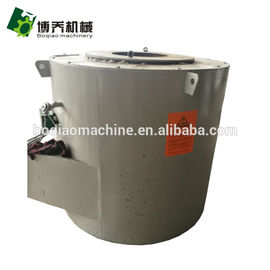 China Fuel Oil Crucible Aluminum Melting Furnace For Aluminum Ingot Scrap Melting supplier