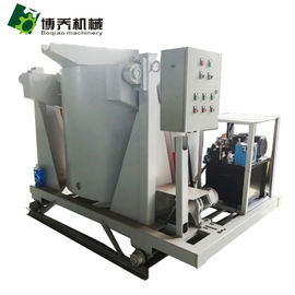 China Hydraulic Tilting Aluminum Melting Furnace High Efficiency For Casting Industry supplier