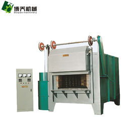 China Heat Treatment Bogie Hearth Furnace , Electric Resistance Furnace High Efficiency distributor